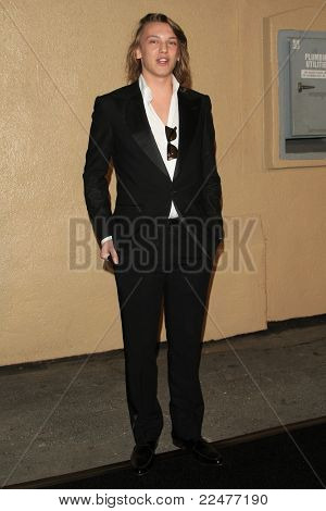 LOS ANGELES - OCT 20: Jamie Campbell Bower at the third annual