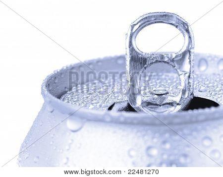 Silver Soda Can