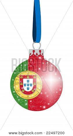 Christmas ball - Portugal
