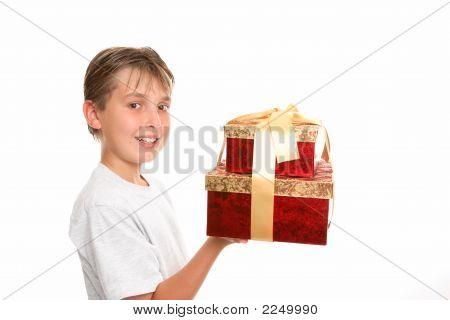 Bringing Gifts At Christmas
