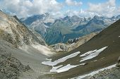 pic of engadine  - Alpine landscape in Engadine - JPG