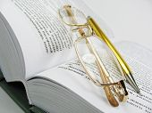 stock photo of etui  - The Book is source knowledges - JPG