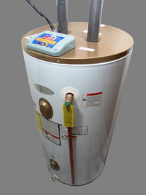 picture of hot water  - Insulated Residential Energy Smart Electric Water Heater - JPG