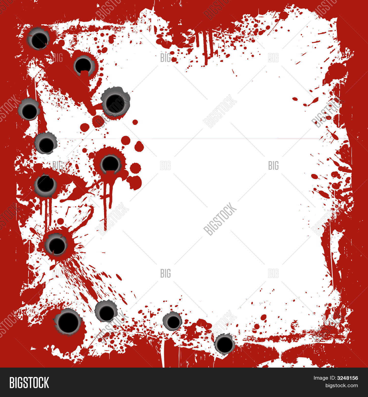 bloody frame gunshots background vector amp photo bigstock