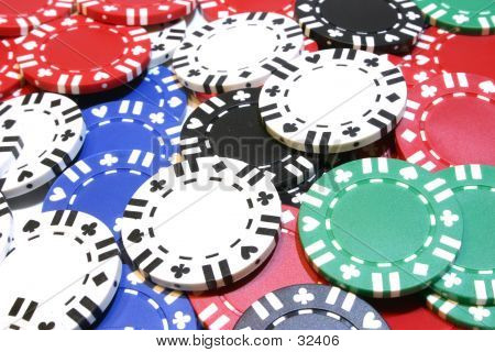Poker Chip Background