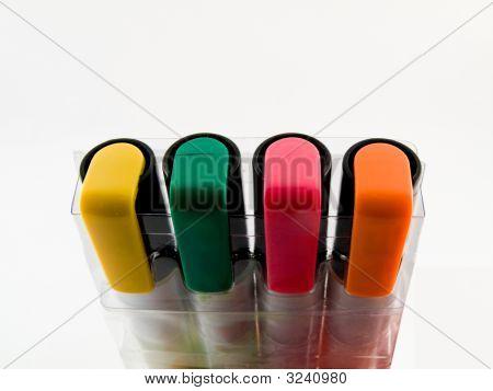 Bright Color Office Marker Highlighter Pens