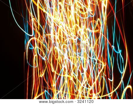 Multi Colored Abstract Lights