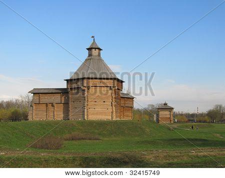 Russia, Moscow. Manor Kolomenskoe. Mokhovaya Tower Sumy prison.