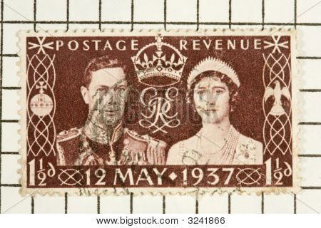 King George Vi, Stamp