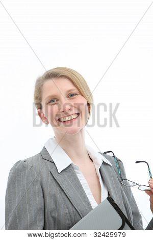 Smiling Mature Businesswoman