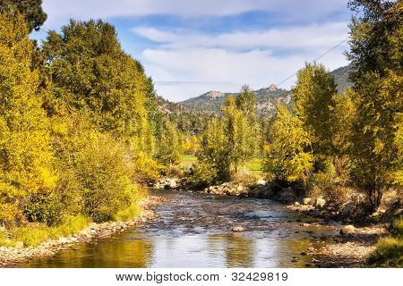 Fall River in Rocky Mountain National Park