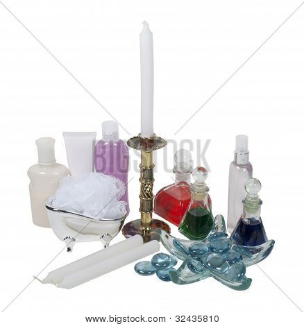 Lotion, Potions, Candles And Relaxation