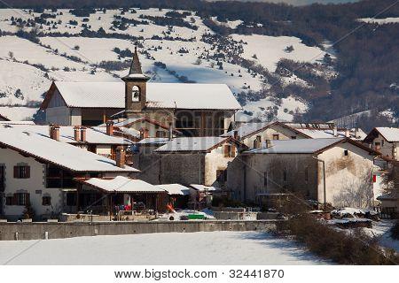 Village Of Gerendiain