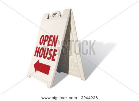 Open House - Tent Sign