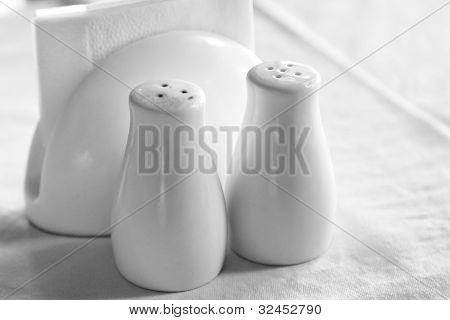 White Spicery Set