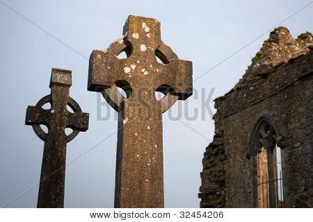 Celtic Stone Crosses