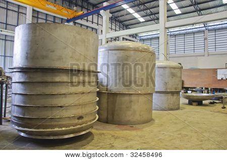 Detail Of Pressure Vessel