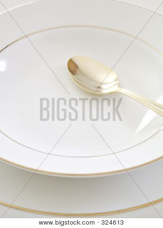 Bowl Plate And Spoon 1