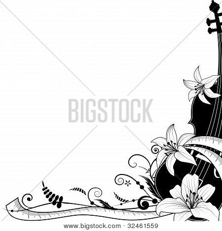 Violine With Sartorial Meter, Allegory