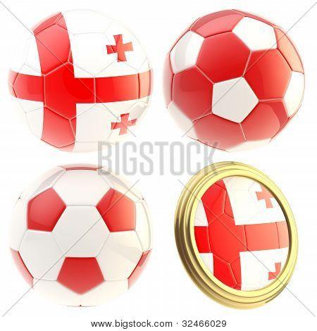Georgia football team attributes isolated