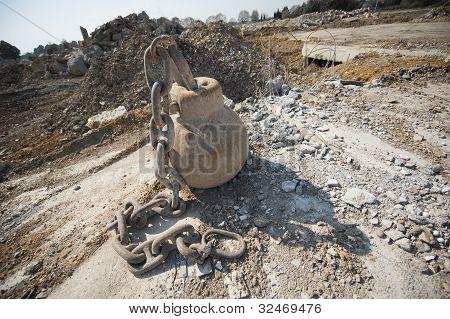 Demolition metal ball