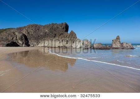 Beach Of San Antolin