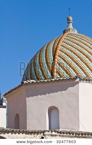 Church of St. Antonio Abate. Lucera. Puglia. Italy.