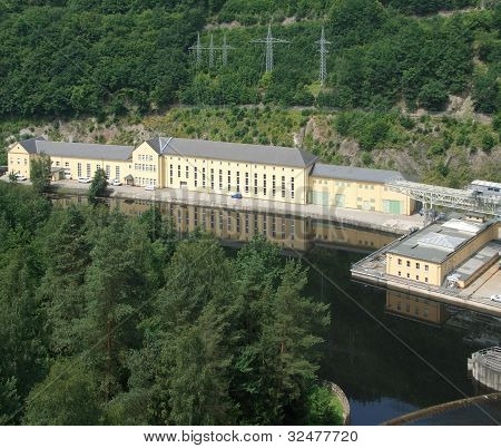 Hydropower Plant In Thüringen