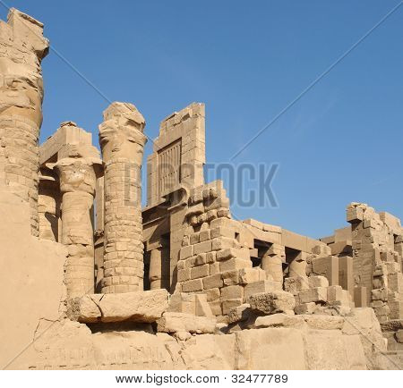 Precinct Of Amun-re In Egypt