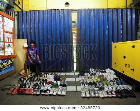 Street Shoe Vendor