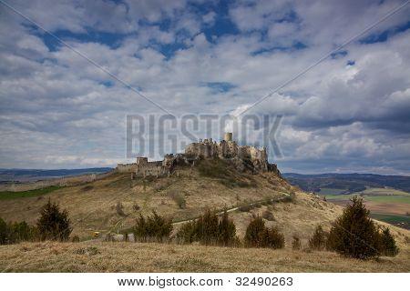 Spis? Castle In Eastern Slovakia