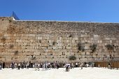 stock photo of tora  - The Jerusalem wailing wall - JPG