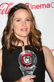 LAS VEGAS - APR 26:  Jennifer Garner arrives at the CinemaCon 2012 Talent Awards at Caesars Palace o