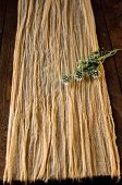 Mauve Gauze Table Runner, Rustic Wedding Table Decor, Runner For Wedding Decor, Handdyed Gauze,weddi poster
