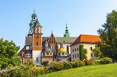 Wawel Cathedral Or The Royal Archcathedral Basilica Of Saints Stanislaus And Wenceslaus On The Wawel poster