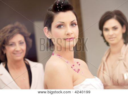 Bride And Attendance