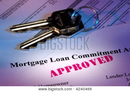 Real Estate Mortgage Loan Document Approved