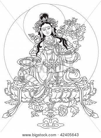 Green Tara Devi