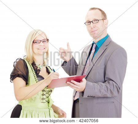 Assinatura de um acordo