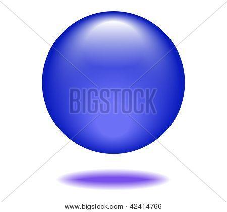 Royal Blue Orb