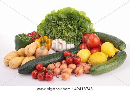 abundance of vegetables