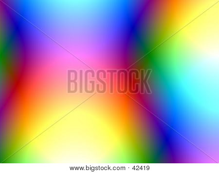 Generated Abstract Background With A Disco Feel