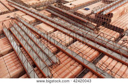 Construction Site - Building Ceramic Blocks Ceiling