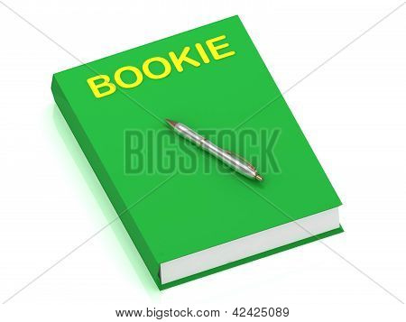 Bookie Name On Cover Book