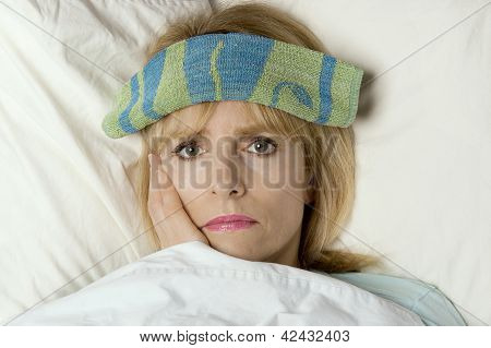 I'm Sick In Bed And I Have A Temperature!