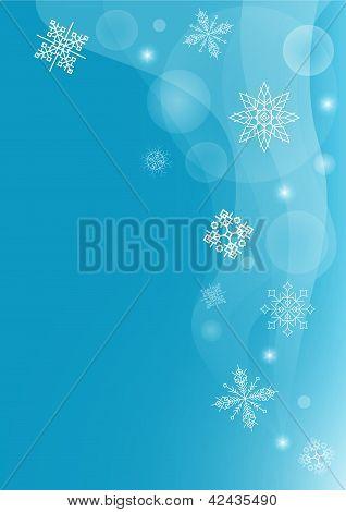 Gentle Winter Blizzard