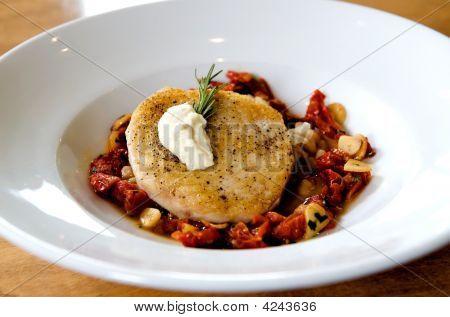 Gourmet Swordfish Dish