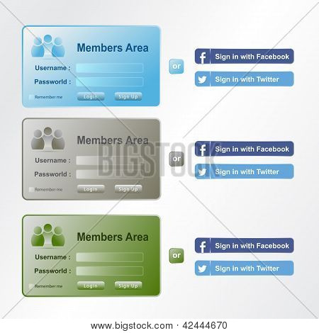 member area set