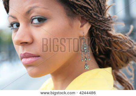 Girl Glance