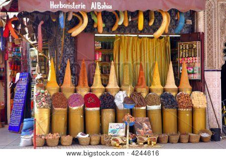 Morocco, Marrakech: Spices